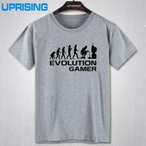 Evolution Of A Gamer PC Geek T-Shirts 2016 Summer Style Short Sleeve O-N... - $21.90