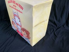 IOB Raggedy Ann and Andy Camel with Wrinkled Knees Applause Box B image 5