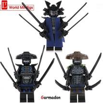 3pcs/set Lord Garmadon Ninjago Villain Custom Minifigures Block Gift Toy  - $8.99