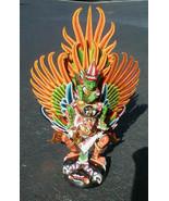 Garuda with Vishnu handmade wood carving from Bali Indonesia 24 inch siz... - $494.01
