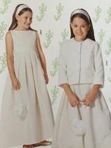 # Burda Sewing Pattern 9471 Girls Childs Formal Dress Flower Girl Size 8... - $14.07