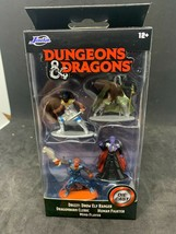 JADA TOYS DUNGEONS & DRAGONS DIE CAST FIGURINES DRIZZT MIND FLAYER  - $4.94