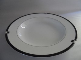 Excellent MIKASA MIDNIGHT Rimmed Soup Bowl 1990-2003 Discontinued - $21.78