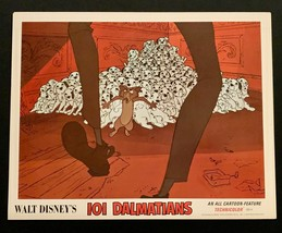 101 DALMATIANS Original Movie Poster Lobby Card Disney Animated Classic #3 - $23.02
