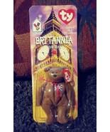 Ty Beanie Baby 1997 McDonald's Britannia the Bear Brown Collecitble Brit... - $23.76
