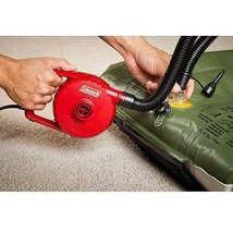 Electric Air Pump Portable Camping Airbed Mattress Pool Inflator Deflato... - $43.48 CAD