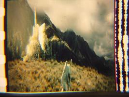 Lord of the Rings 35mm film cell transparency LOTR Slide 27 - $1.10