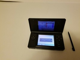 Nintendo DS Lite USG-001 Black Glossy Handheld Game Console System - Tested - $37.32