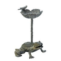 Leap Frog Aluminum Bird Bath - $86.33