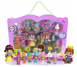Pinypon Fairy Tales Snow White and the Seven Dwarfs New in Box - $99.88