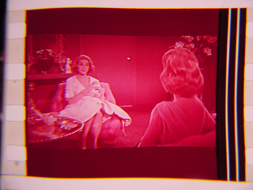 Lauren BaCall rare 35mm film cell transparency which movie?