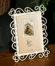 Shabby Chic Metal Picture Frame - $9.99