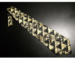 Tie emanuele cravatte limited edition black golds with pale green highlight accents 05 thumb155 crop