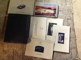 2002 Mercedes Benz C Class C230 C300 C350 Owners Manual Set Kit W Case Factory - $49.45