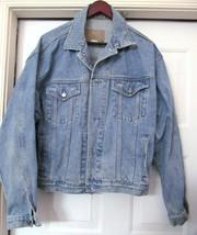 Gap Denim Men's Wash Denim J EAN Trucker Jacket Style 100% Cotton #305 12 Size L - $39.77