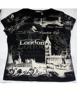 Ladies London Eye Top Size Large  - $12.00