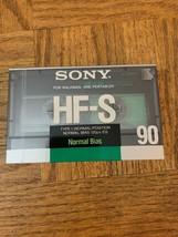 Sony HF-S 90 Minute Cassette - $17.70
