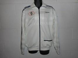 Vintage 90s  Adidas Worldwide Trefoil Zip Up Track Jacket Large - $29.99