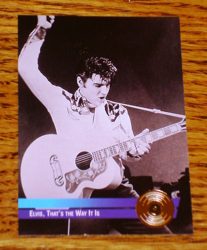 ELVIS PRESLEY THAT'S THE WAY IT IS GOLD EDITION COLLECTIBLE
