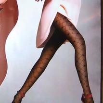 Sexy Sheer Tights Plaid Pantyhose 30D Black FREE Shipping - $24.90
