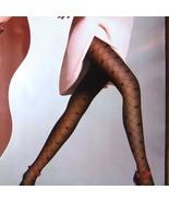 Sexy Sheer Tights Plaid Pantyhose 30D Black FREE Shipping - $24.90