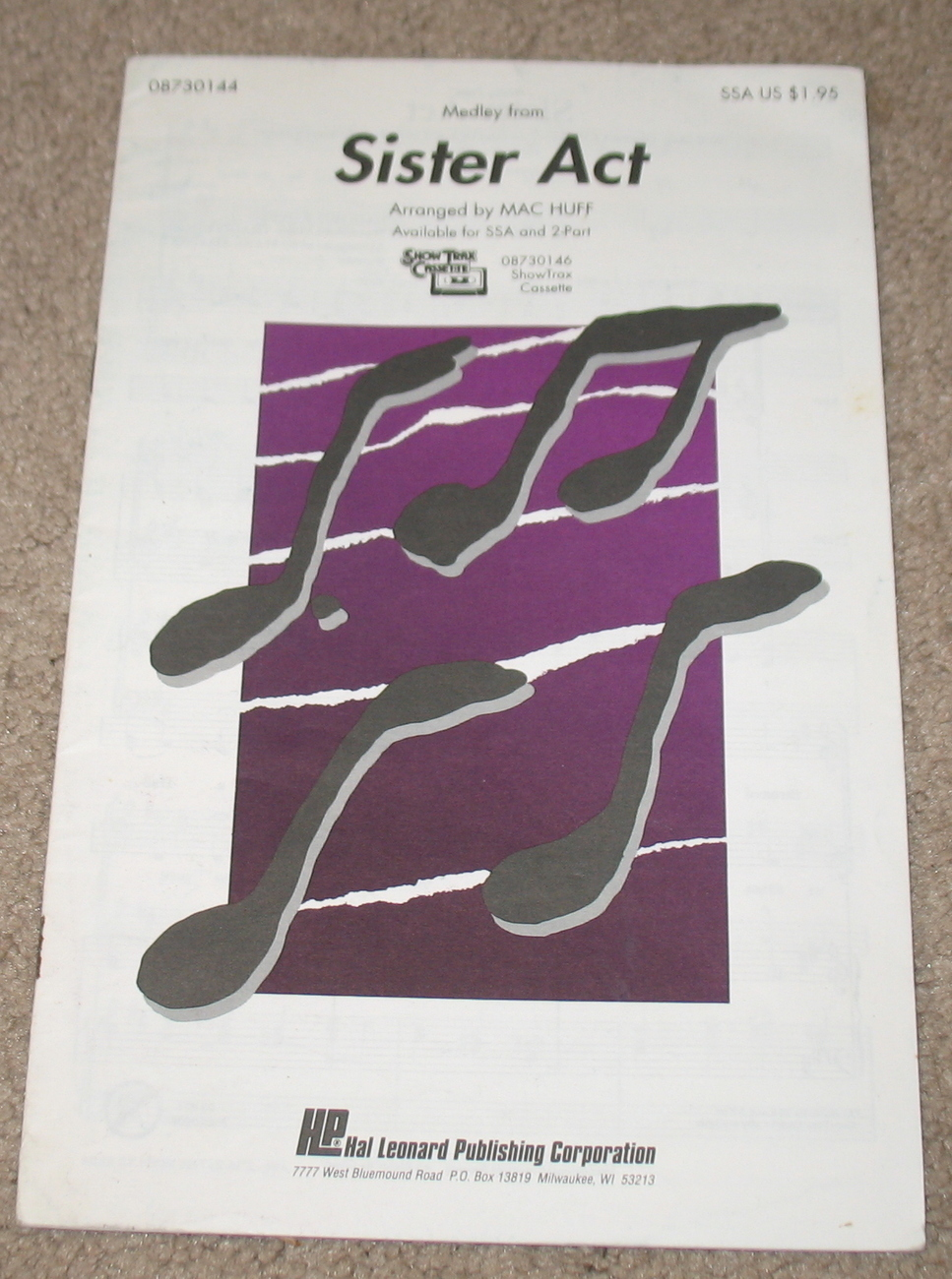 Melody from Sister Act 1993 Sheet Music