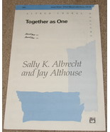 Together as One Sheet Music Alfred Choral Level 3 - $7.99