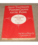 John Thompson's Modern course For Piano 3rd Gra... - $8.50