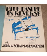 Blue Danube in Reverse Sheet Music - 1945    - $7.95
