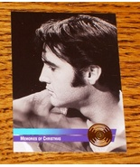 ELVIS PRESLEY MEMORIES OF CHRISTMAS GOLD EDITION COLLECTIBLE - $29.00