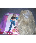 BRITTNEY SPEARS MEGA STAR HALLOWEEN COSTUME SZ LG - $17.50