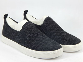 Earth Zen Groove Size US 9 M EU 41 Women's Knit Perforated Slip-On Shoes Black - $49.45
