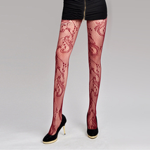 Sexy Fishnet Style Pantyhose Stockings Flower Pattern - $19.90
