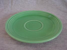Vintage Fiestaware Original Green Saucer Fiesta  D - $5.00