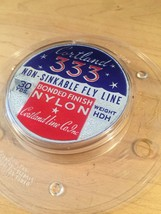 Vintage Cortland fly rod line packaging and spool image 6
