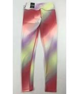 Victoria's Secret Sport VSX Knockout Tight Cali Haze Rainbow mesh Leggin... - $34.65