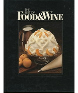 The Best Of Food & Wine Cookbook  - $9.95