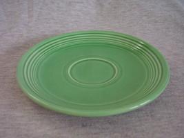 Vintage Fiestaware Orginal Green Saucer Fiesta  A - $8.00