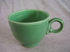 Vintage Fiestaware Original Green Ring Handle Teacup A - $27.54