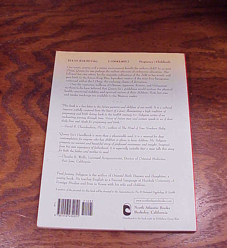 Queen Jin's Handbook of Pregnancy Book Fred Jeremy Seligson