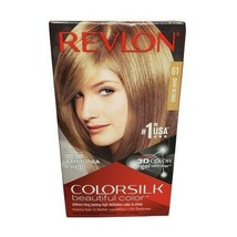 3 BOXES - REVLON COLORSILK BEAUTIFUL COLOR - 61 DARK BLONDE - $19.99