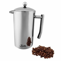 Tasta Quality Stainless-Steel French Press Coffee Maker. Heavy Duty for ... - £20.49 GBP