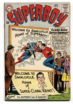 SUPERBOY #107-1963-smallville-DC SILVER AGE-vg+ - $54.63