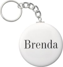 2.25 Inch Brenda Name Keychain (Style 1) - $2.75