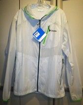 Columbia See The Light Translucent Jacket With Hood, Mens Xxl, New With Tag - $69.95