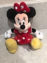 Disney Store Minnie Mouse Mini Bean Bag Plush 9 inches A17 - $11.95