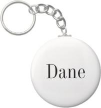 2.25 Inch Dane Name Keychain (Style 1) - $2.75