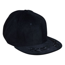 Captain Snapback Hat by LET'S BE IRIE - Black Corduroy, Chief, Commander - £19.29 GBP