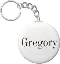 2.25 Inch Gregory Name Keychain (Style 1) - $2.75