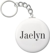 2.25 Inch Jaelyn Name Keychain (Style 1) - $2.75